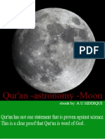 Qur'an - Astronomy & Moon