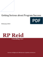 Getting Serious About Program Success PA001002