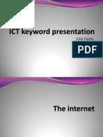 ict keyword presentation eilis darby