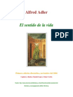 Adler, Alfred - 1933 - El Sentido de La Vida