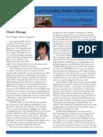 WGSS Dept Newsletter 2014