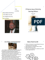 Lesson 37 I'll Serve Jesus Christ by Serving Others PDF
