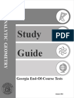 eoct analytic geometry study guide