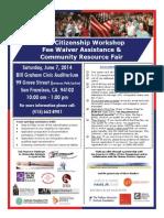 SFPCI Flyer.june 7 2014.Bill Grahan Civic Auditorium