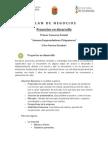 Formato Plan Negocio Desarrollo