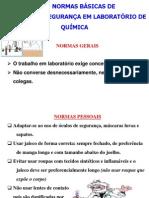 Original Normas de Segurança - q. Analitica