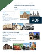 Patrimonio Arquitectónico en la Ciudad de Santiago