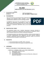 Silabo Java Unp