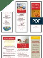 survival brochure
