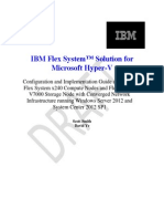Hyper-V Medium Fast Track for IBM Flex System With V7000