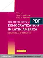 Democratization in Latin America Advances and Setbacks