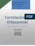 Correlación Orkiszewski