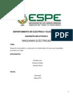 Informe Maquinas Ensayo en Cortocircuito
