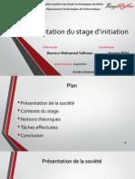 Présentation Stage d'Initiation