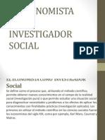 El Economista Como Investigador Social