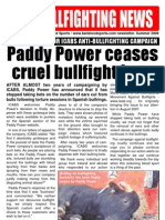 Ban Bullfighting News