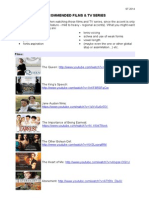 PPOCS List of Films & TV Series