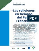 LATINBARÓMETRO. Las Religiones en Tiempos Del Papa Francisco