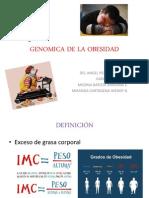 Genomica de La Obesidad