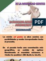 AMBITOS DE LA MISION AD GENTES.pptx