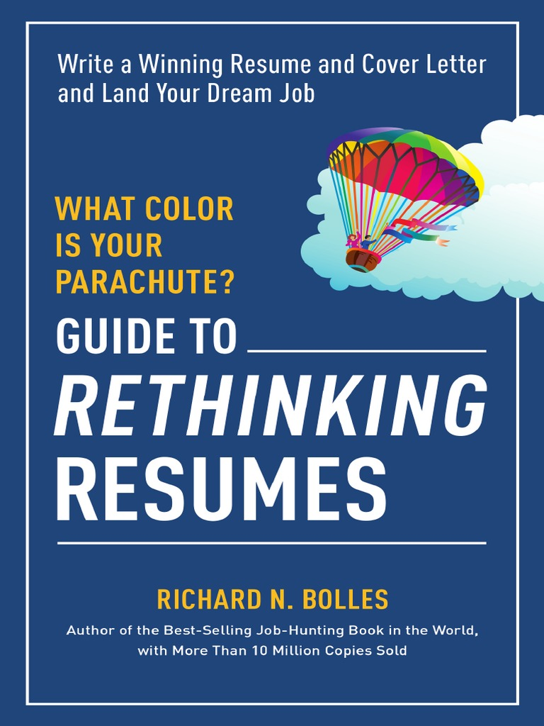 Excerpt from what color is your parachute guide to rethinking excerpt from what color is your parachute guide to rethinking resumes by richard n bolles rsum facebook fandeluxe Image collections
