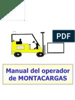 125039979 Manual Del Operador de Montacargas Ppt