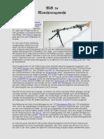 Das Deutsche Maschinengewehr MG-34