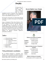 Ricardo López Murphy - Wikipedia, La Enciclopedia Libre