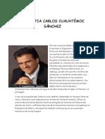 Biografia Carlos Cuauhtémoc Sánchez