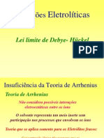 Gilmenebianco-Lei Debye Huckel_atividades