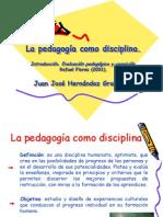 la pedagoga como disciplina