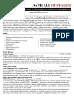 copy of danielle huffaker resume 1