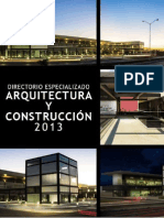 Directorio Arquitectura Construccion 2013 Web v2