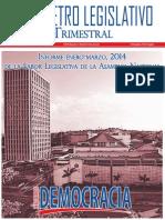 Barometro Legislativo Trimestral   enero-marzo 2014.pdf