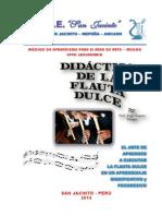 Módulo de Flauta Dulce I -2014