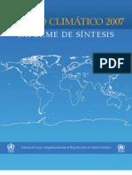 Cambio Climatico 2007 IPCC