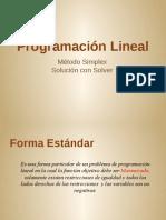 (2) Método Simplex