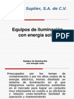 Alumbrado Iluminacion Solar1