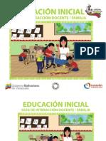 Colección Bicentenario - Educacion Inicial Guia de Interaccion Docente