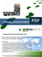 Australian Emissions Reduction Fund Carbon Policy Greg Hunt Minister ISO 14064