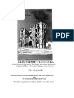 Glimpses of Old Dhaka by Syed Mohammed Tyfoor
