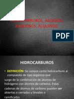 Hidrocarburos, Alcanos, Alquenos, Alquinos