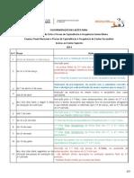 Calendário de Ações - 2014
