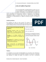 Clase 1 Introducción Al Analisis Espectral