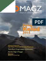 GEOMAGZ. Vol 4 Nomor 1 Maret 2014. Gelegar Kelud 2014