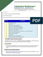 Communication -Advisory for May 10 -2014