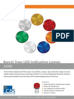 Barrel Type LED
