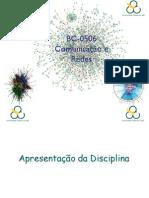 Introdução Da Disciplina Comunicação e Redes