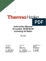 Haake W-45 - Thermo Sensors DC30