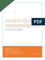 Paneles Solarer TermodinámicosOK
